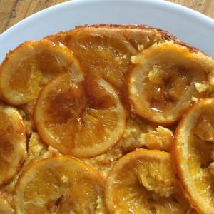 Tangy orangey gluten free cake