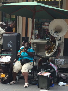 the best voice from this lady every afternoon outside Rouses supermarket!