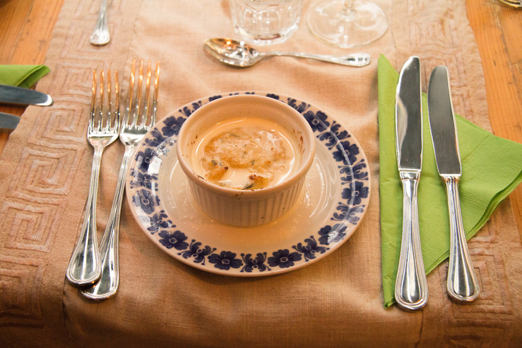 Cold & rainy? Start your feast with a flan