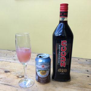 Tastes of Carolina Zucca cocktail